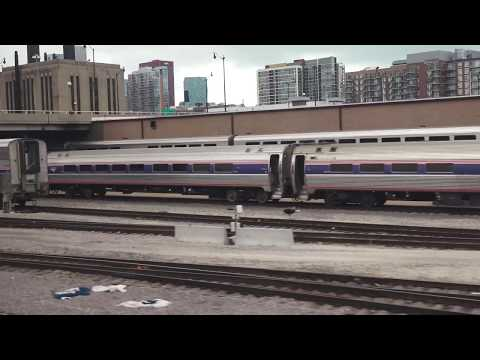 4K 2014 Amtrak coast to coast  by train -- UNCUT --In all its Glory