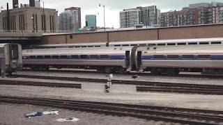 4K 2014 Amtrak coast to coast  by train -- UNCUT --In all its Glory