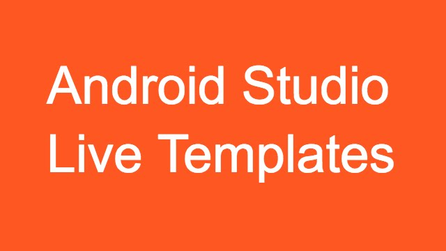 212 android studio live templates youtube 212 android studio live templates pronofoot35fo Images
