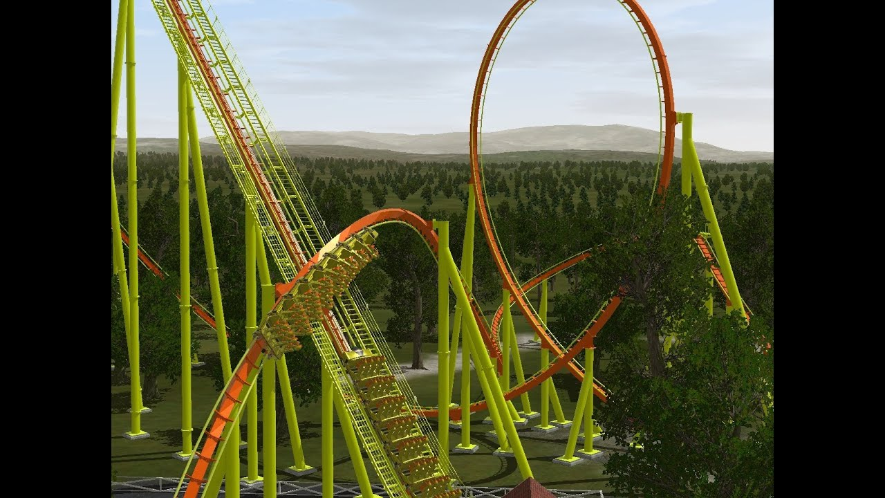 No limits 2 b m stand up coaster firestorm youtube for Stand 2 b