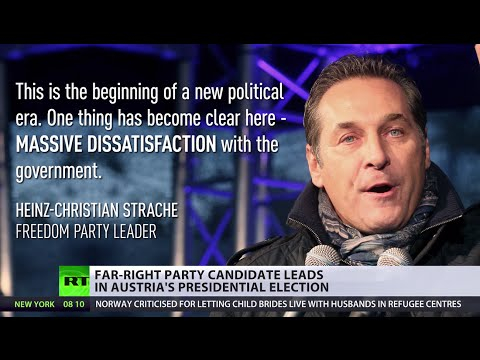 Far right party candidate leads in Austria's Presidential election