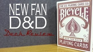 Bicycle Fan Back - Dan & Dave - Playing Cards Review
