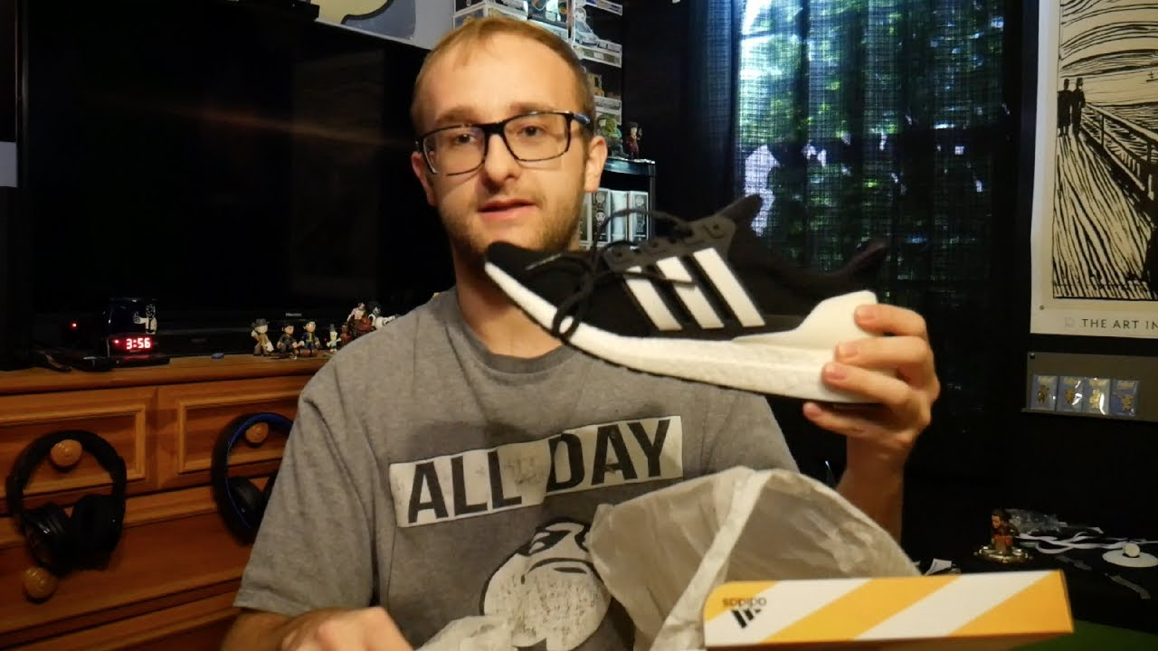 dba8535e2 Adidas Ultra Boost DNA Running Shoes Unboxing and On Feet Look ...
