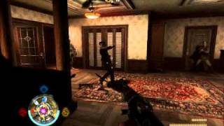Wolfenstein - Officers house (Gore and Axe Gameplay)