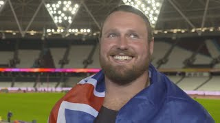 WCH 2017 London - Tomas Walsh NZL Shot Put Gold