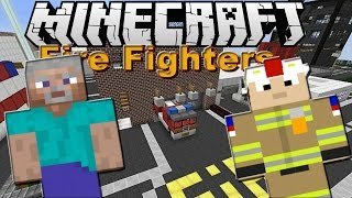 Minecraft Fire Fighters episode 1 The prologue (Roleplay)