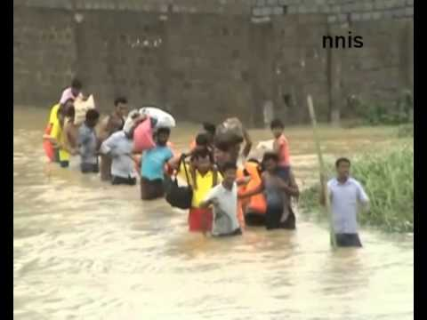 Continuous Rains In Odisha, Flood Situation Worsens