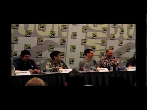 Bob's Burgers Panel - San Diego Comic-Con 2012