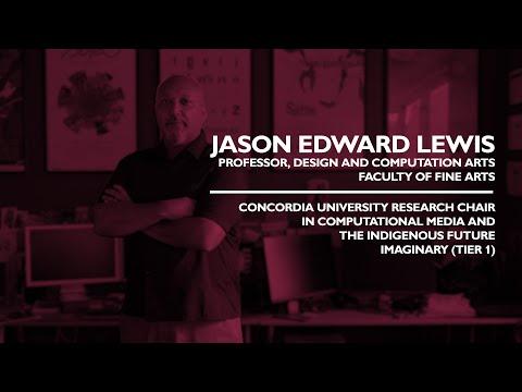 Jason Edward Lewis - Royal Society of Canada - Class of 2021
