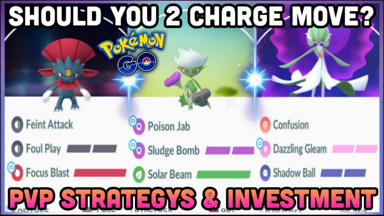 EXTRA CHARGE MOVES IN PVP FOR POKEMON GO | SHOULD YOU INVEST | SHIELD  STRATEGY & PVP TIPS