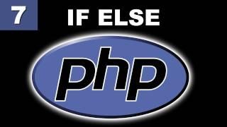 Tutorial PHP - 7. Condicional If - Else