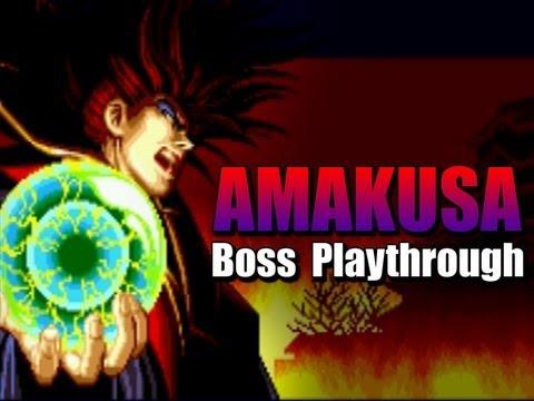 Samurai Shodown Arcade Amakusa Playthrough Boss Longplay