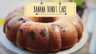 Banana Bundt Cake | Easy To Make Tea Cake Recipe | Beat Batter Bake With Priyanka
