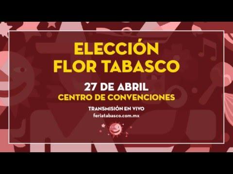Elección Flor Tabasco 2016