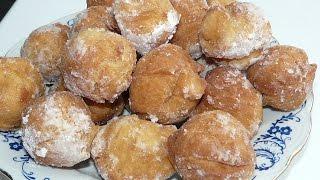 Пончики на сгущенке простой рецепт. Donuts recipe from Ukraine