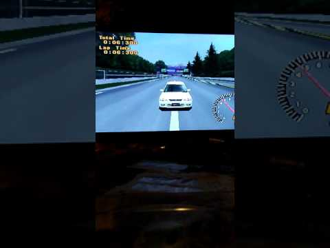 Crazy feat of getting through Gran Turismo 1 License tests