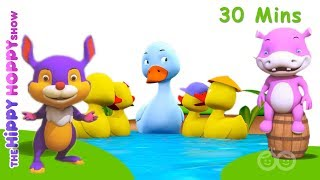 Five Little Ducks! Enjoy the classic Five Little Ducks, non stop fo...