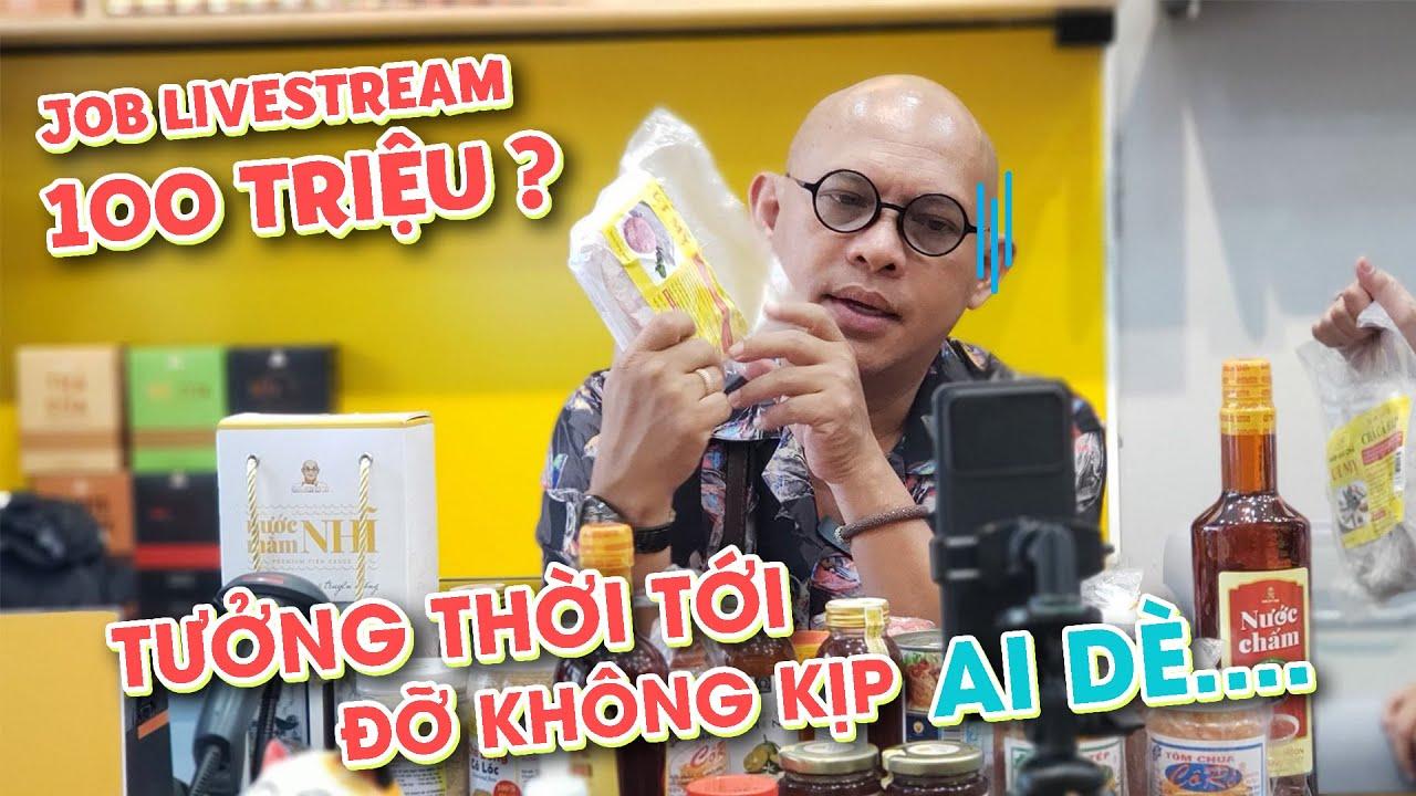 """Tưởng trúng mánh job livestream 100tr ai dè cuối cùng nhận cái kết """"khổ qua"""" !!!"""