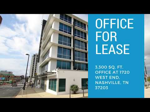 West End Office for Lease: 3,300 sq ft Available in Nashville TN Mp3