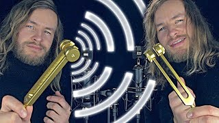 Twin Tuning Fork Vibrations - [ASMR]