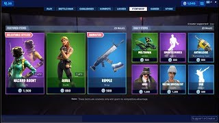 *NEW*Ripple Wrap & Aura Skin Back! Fortnite Item Shop June 11, 2019