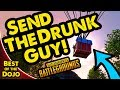 DRUNK CANADIAN GOES FOR BOX - PUBG Battlegrounds Best of Dojo