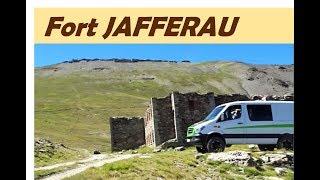 fort Jafferau - dangerous track