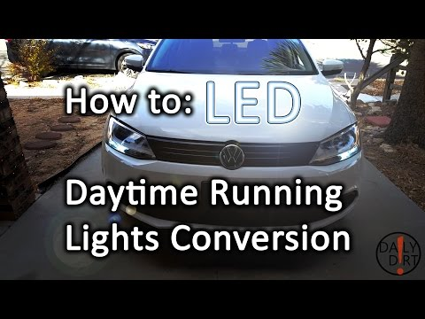 How to Daytime Running Lights to LED - VW Jetta MK6