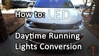 How to Convert your Daytime Running Lights to LED - VW Jetta(, 2016-12-12T05:50:54.000Z)