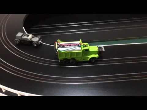 Slot car track rail cleaner slot assumburgpad