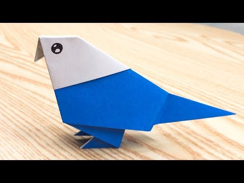 Origami parrot -  How to Make parrot Step by Step