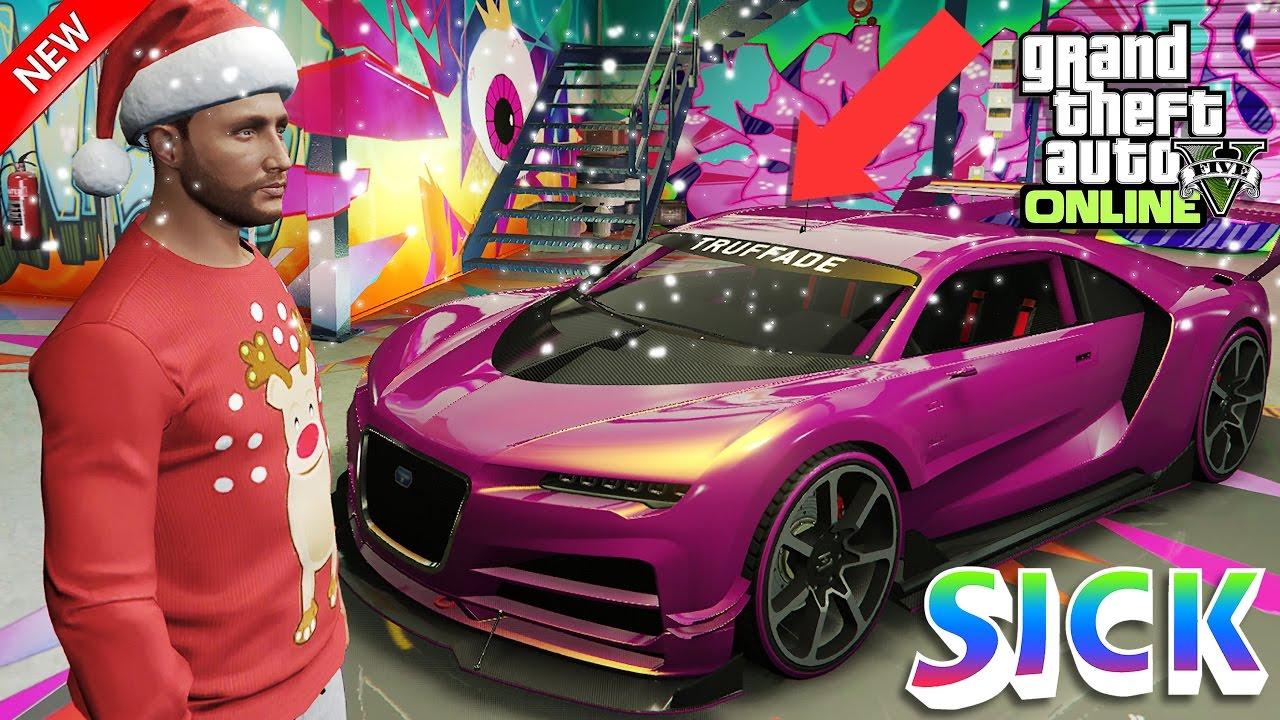 GTA 5 Online Best Purple-Bananas Paint Jobs Truffade Nero
