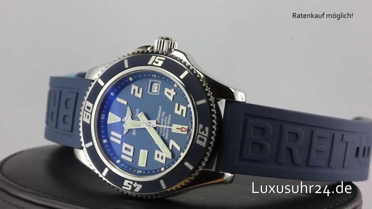Breitling superocean 42 limited edition edinburgh watch company.