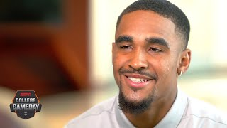 Jalen Hurts wouldn't change his unprecedented journey for the world | College GameDay