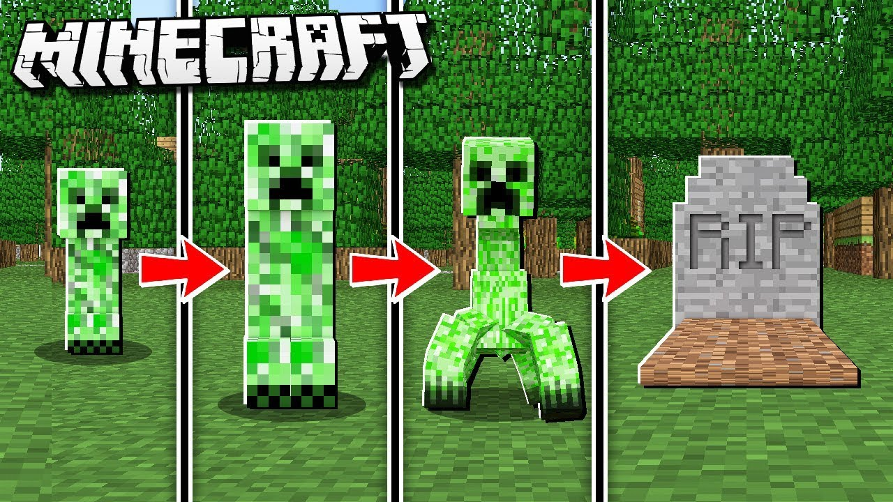IF CREEPERS were REALISTIC in Minecraft! Baby Creepers ...