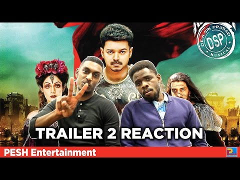 Puli Trailer 2 Reaction & Review - Vijay | PESH Entertainment