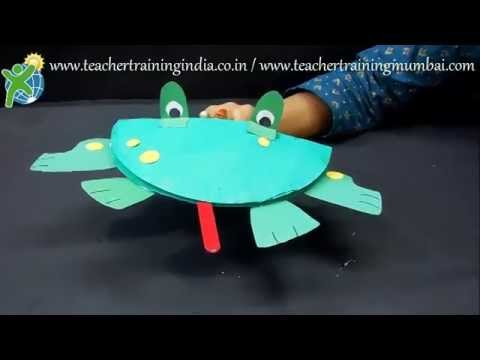 & DIY - How to make Paper Plate Puppets - YouTube