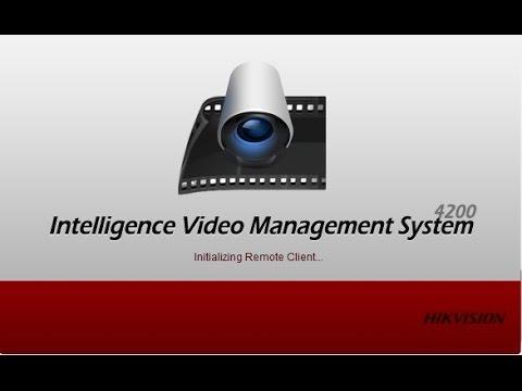IVMS-4200 - Buscar, Visualizar, Reproduzir E Realizar Backup De Vídeo