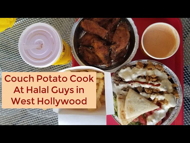 Halal Guys West Hollywood | CouchPotatoCook.com