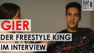 GIER der Freestyle King über Battle mit Kay One, Wunschgegner, Samy Deluxe, Rap am Mittwoch uvm.
