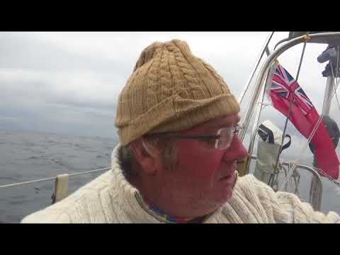 Wandering Steve the crossing to France, Scilly Isles to Ushant