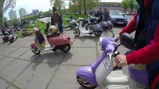 Retro Scoter Kyiv - Открытие сезона 2016