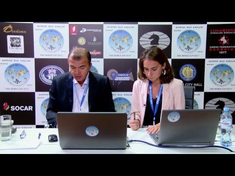 FIDE World Chess Cup 2017 Round 1 Game 2