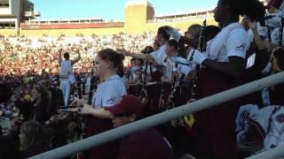 FSU band tomahawk chop