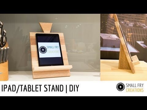Ipad stand / Tablet stand | DIY