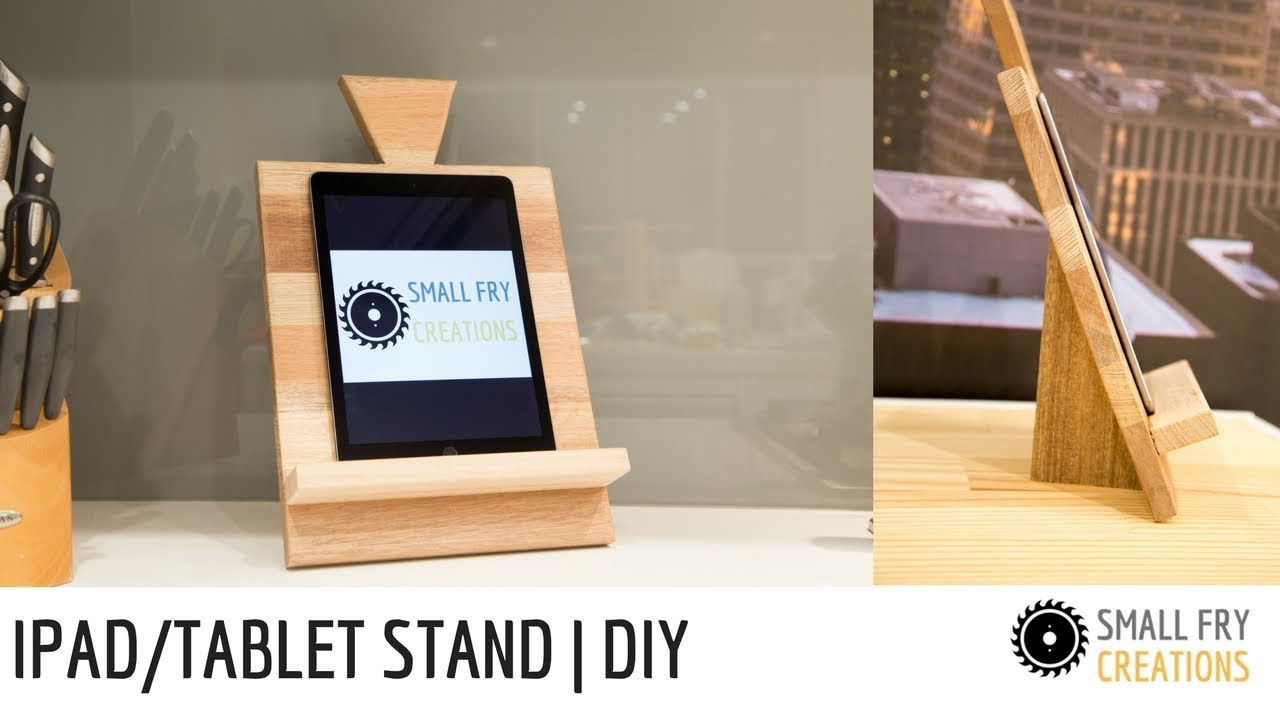 Ipad stand / Tablet stand | DIY - YouTube