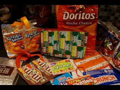 Upcycle Recycle Projects Juice Pouches Candy Bar