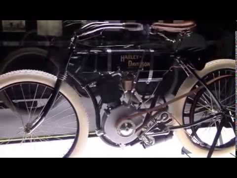 Harley Davidson Museum- Serial Number 1 - YouTube