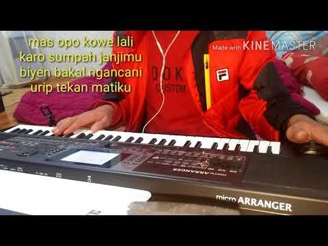 DITINGGAL RABI  ( karaoke ) KORG MICROARRANGER