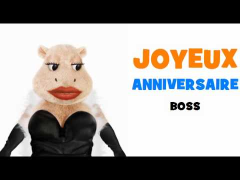 joyeux anniversaire boss youtube. Black Bedroom Furniture Sets. Home Design Ideas